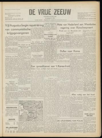 de Vrije Zeeuw 1953-07-29