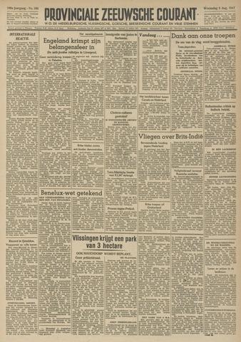 Provinciale Zeeuwse Courant 1947-08-06