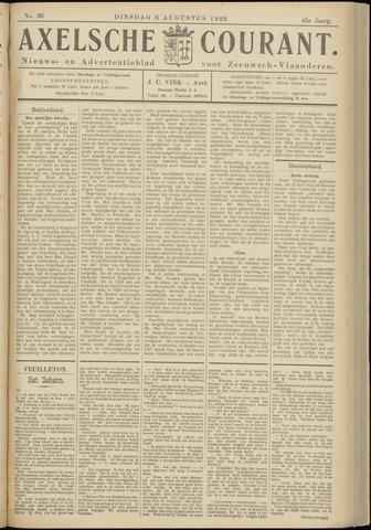 Axelsche Courant 1929-08-06
