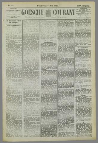 Goessche Courant 1919-05-08