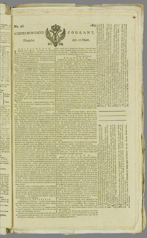 Middelburgsche Courant 1809-03-21