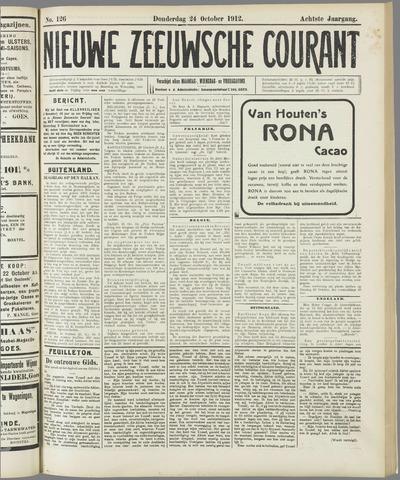 Nieuwe Zeeuwsche Courant 1912-10-24