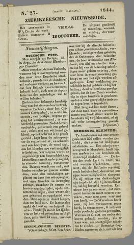 Zierikzeesche Nieuwsbode 1844-10-18