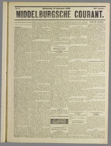 Middelburgsche Courant 1925-01-10