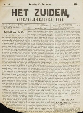 Het Zuiden, Christelijk-historisch blad 1876-08-22