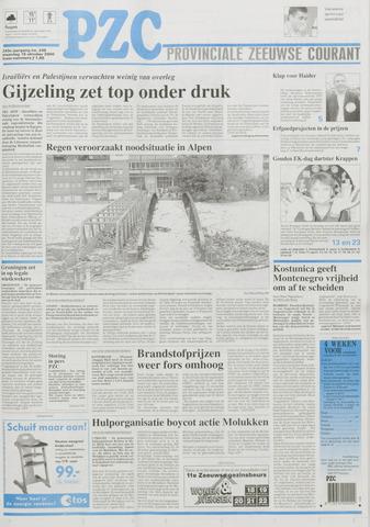 Provinciale Zeeuwse Courant 2000-10-16