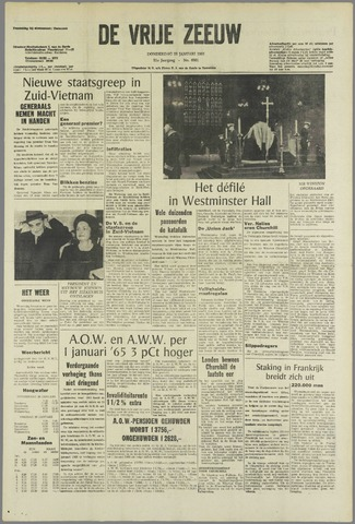 de Vrije Zeeuw 1965-01-28