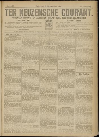 Ter Neuzensche Courant. Algemeen Nieuws- en Advertentieblad voor Zeeuwsch-Vlaanderen / Neuzensche Courant ... (idem) / (Algemeen) nieuws en advertentieblad voor Zeeuwsch-Vlaanderen 1914-09-19