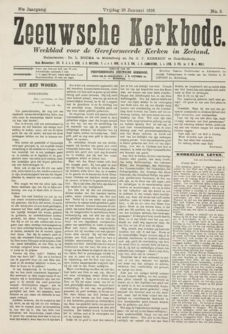 Zeeuwsche kerkbode, weekblad gewijd aan de belangen der gereformeerde kerken/ Zeeuwsch kerkblad 1916-01-28
