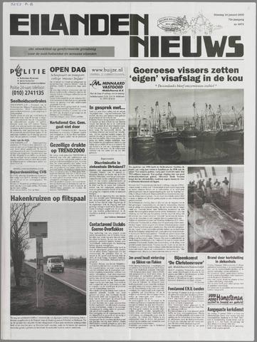 Eilanden-nieuws. Christelijk streekblad op gereformeerde grondslag 2000-01-18