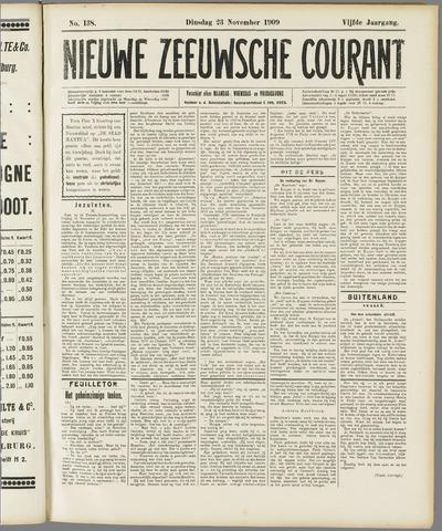 Nieuwe Zeeuwsche Courant 1909-11-23