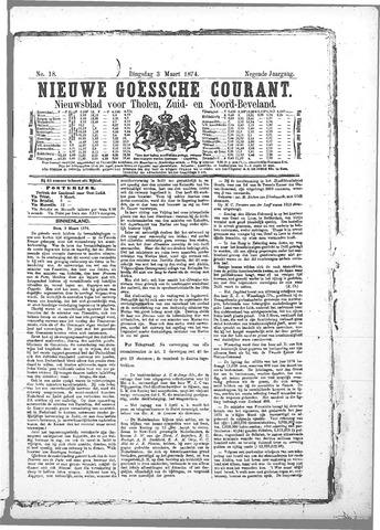 Nieuwe Goessche Courant 1874-03-03