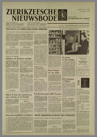 Zierikzeesche Nieuwsbode 1965-05-25