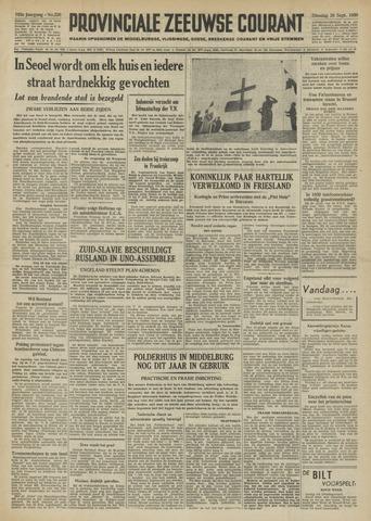 Provinciale Zeeuwse Courant 1950-09-26