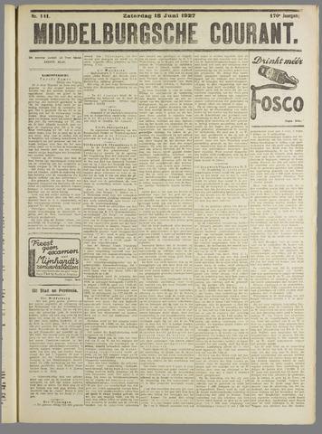 Middelburgsche Courant 1927-06-18