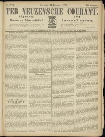 Ter Neuzensche Courant. Algemeen Nieuws- en Advertentieblad voor Zeeuwsch-Vlaanderen / Neuzensche Courant ... (idem) / (Algemeen) nieuws en advertentieblad voor Zeeuwsch-Vlaanderen 1890-12-24