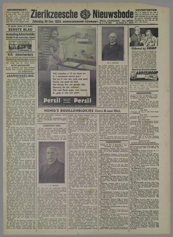 Zierikzeesche Nieuwsbode 1933-12-30