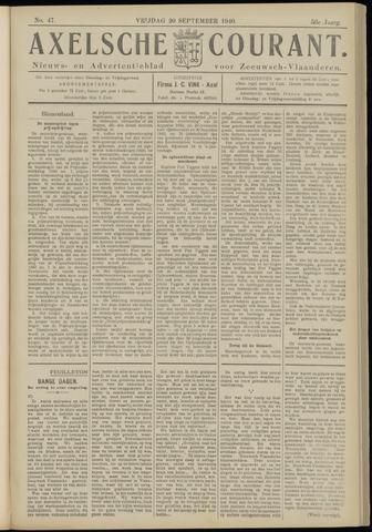 Axelsche Courant 1940-09-20