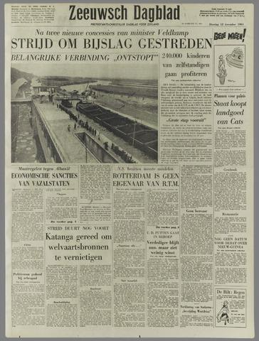 Zeeuwsch Dagblad 1961-12-12