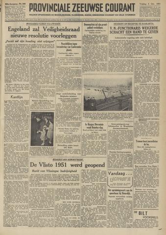 Provinciale Zeeuwse Courant 1951-10-05