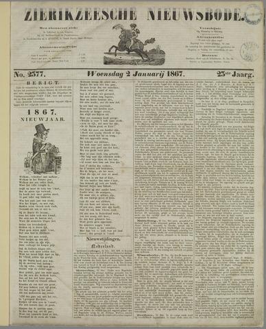 Zierikzeesche Nieuwsbode 1867