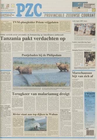 Provinciale Zeeuwse Courant 1998-08-11