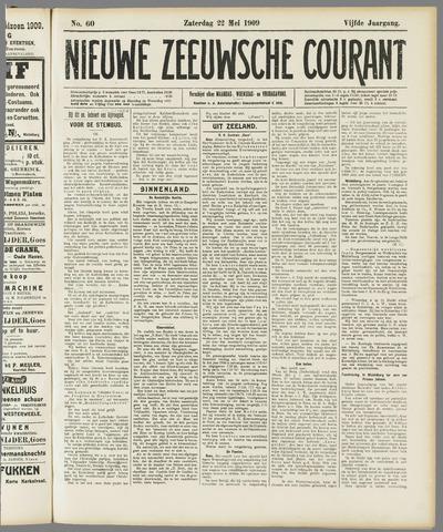 Nieuwe Zeeuwsche Courant 1909-05-22