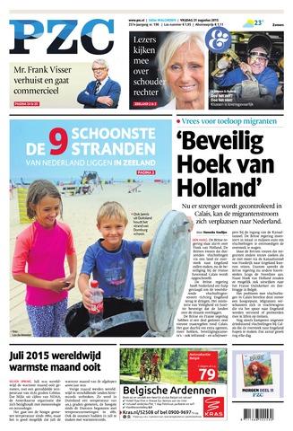 Provinciale Zeeuwse Courant 2015-08-21