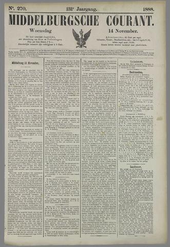 Middelburgsche Courant 1888-11-14