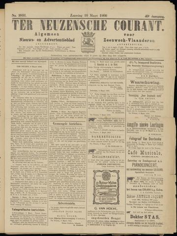 Ter Neuzensche Courant. Algemeen Nieuws- en Advertentieblad voor Zeeuwsch-Vlaanderen / Neuzensche Courant ... (idem) / (Algemeen) nieuws en advertentieblad voor Zeeuwsch-Vlaanderen 1900-03-10