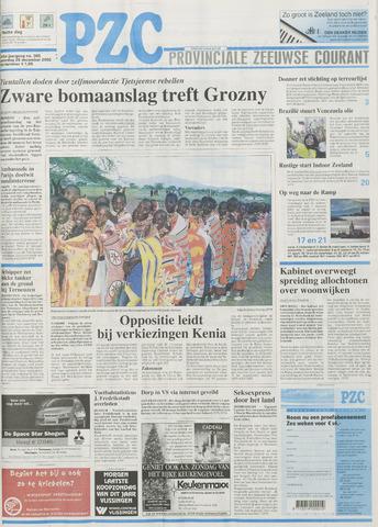 Provinciale Zeeuwse Courant 2002-12-28