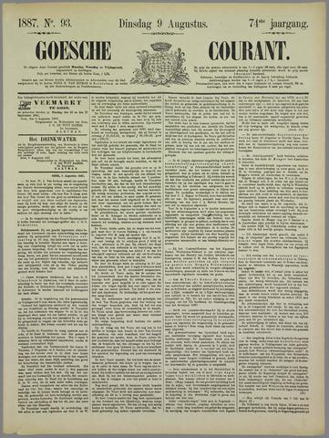 Goessche Courant 1887-08-09