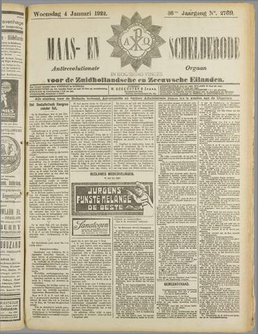 Maas- en Scheldebode 1922