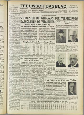 Zeeuwsch Dagblad 1952-06-26