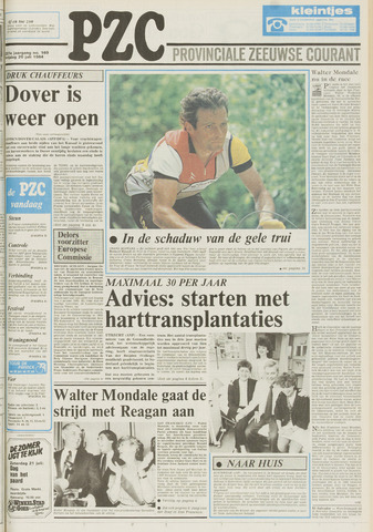Provinciale Zeeuwse Courant 1984-07-20