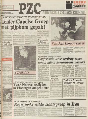 Provinciale Zeeuwse Courant 1980-09-08