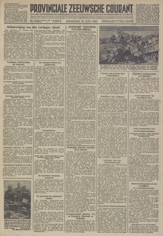 Provinciale Zeeuwse Courant 1942-07-20