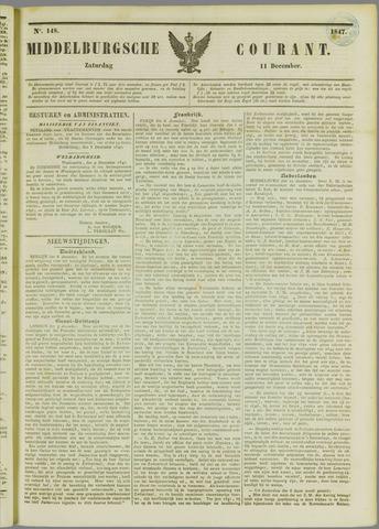 Middelburgsche Courant 1847-12-11