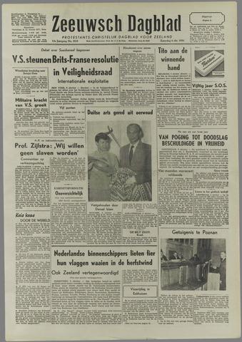 Zeeuwsch Dagblad 1956-10-06