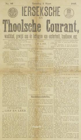 Ierseksche en Thoolsche Courant 1887-03-05