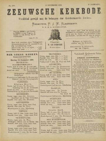 Zeeuwsche kerkbode, weekblad gewijd aan de belangen der gereformeerde kerken/ Zeeuwsch kerkblad 1890-12-13
