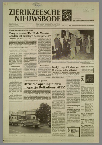 Zierikzeesche Nieuwsbode 1982-01-05