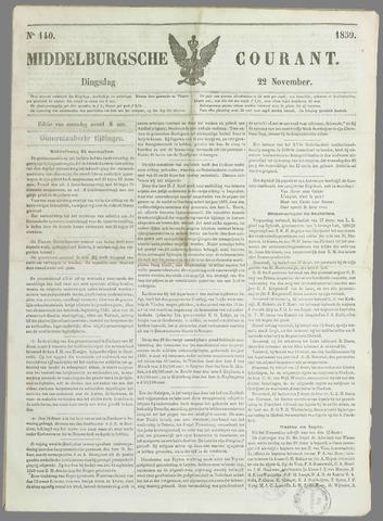 Middelburgsche Courant 1859-11-22