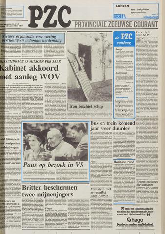 Provinciale Zeeuwse Courant 1987-09-11