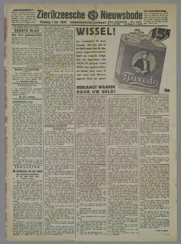 Zierikzeesche Nieuwsbode 1935