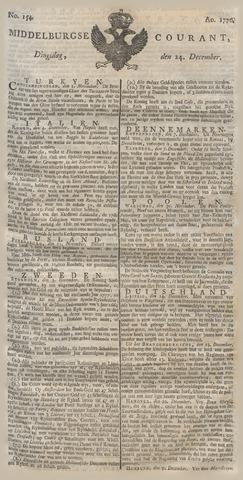 Middelburgsche Courant 1776-12-24