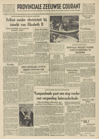 Provinciale Zeeuwse Courant 1953-07-03