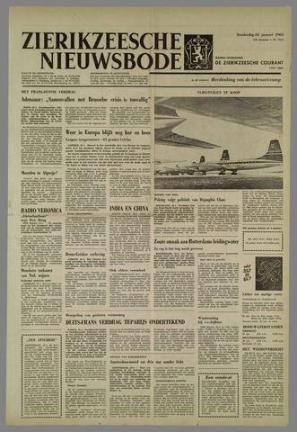 Zierikzeesche Nieuwsbode 1963-01-24