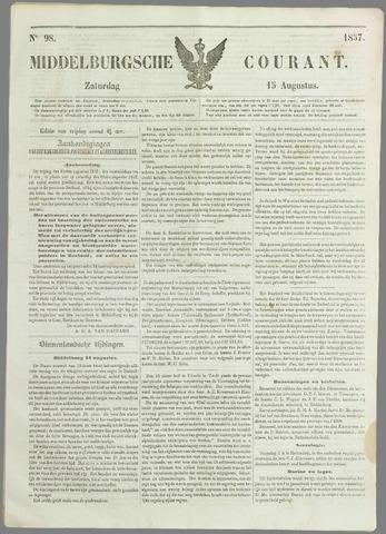 Middelburgsche Courant 1857-08-15