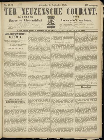 Ter Neuzensche Courant. Algemeen Nieuws- en Advertentieblad voor Zeeuwsch-Vlaanderen / Neuzensche Courant ... (idem) / (Algemeen) nieuws en advertentieblad voor Zeeuwsch-Vlaanderen 1890-09-10